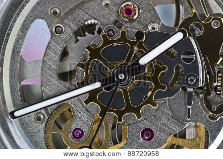 Clockwork Gear Watch Dial