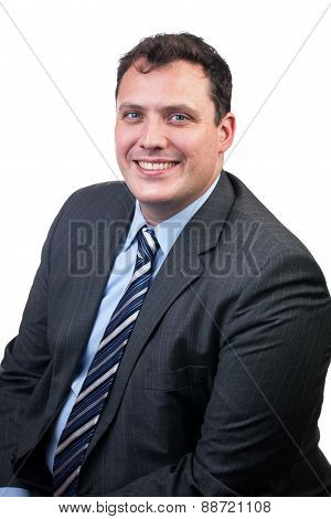 Cheerful Business Man