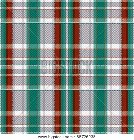 Tartan Seamless Texture In Various Colors