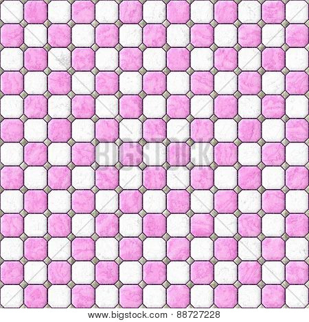 Abstract regular checkerboard pattern.