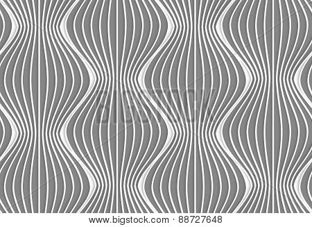 3D Vertical Striped Waves
