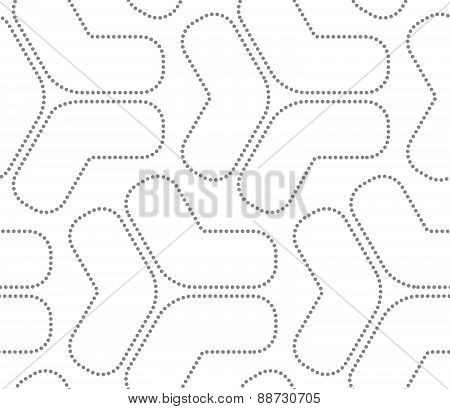 Gray Dotted Tetrapods