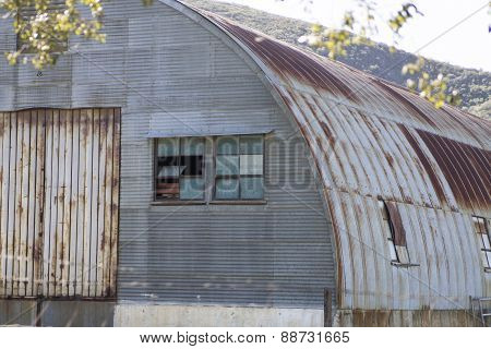 Corrugated Metal Structure