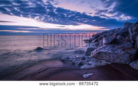 Peaceful Coastal Sunrise
