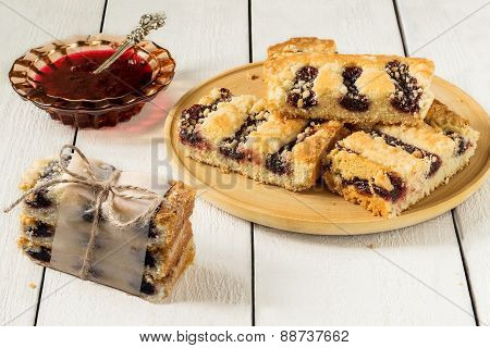 Jam And Cake With Jam