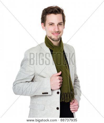 American man portrait