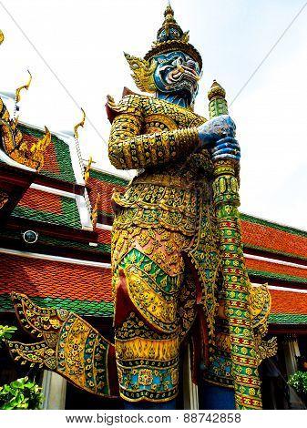 Thai Temple Guardian