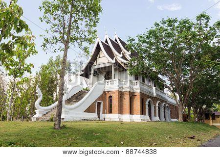 Asian Brick Building
