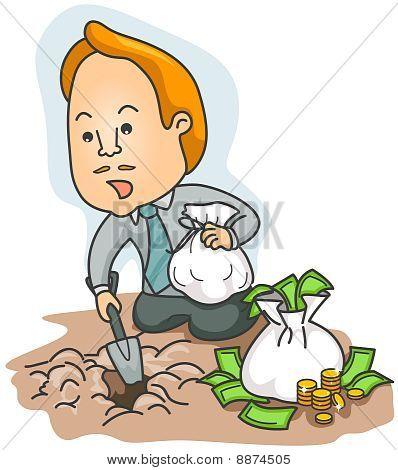Burying / Planting Money