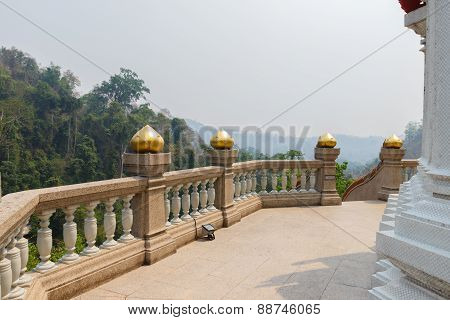 The Balcony With Mountain View