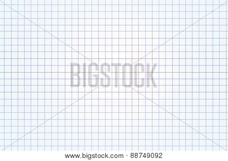 White Squared Paper Seamless Sheet Texture