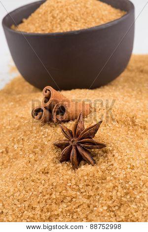 Tropical Brown Sugar, Anise, Cinnamon