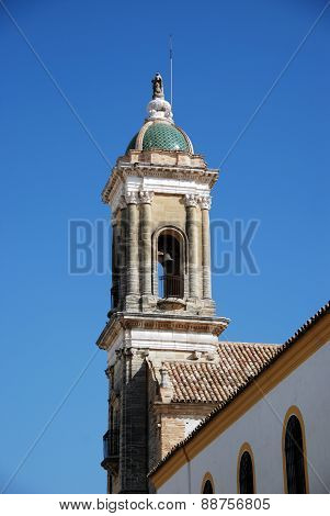Church bell tower, Aguilar de la Frontera.