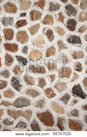 Old stone wall surface, background