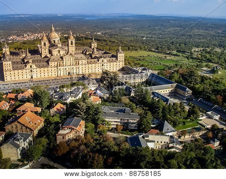 Aerial View Of El Escorial Ii