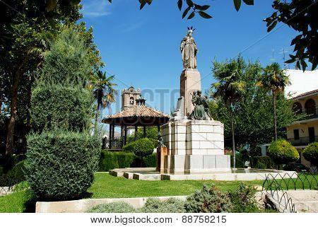 Town park, Priego de Cordoba.