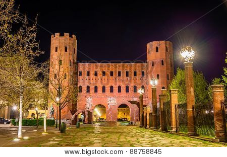 Palatine Towers In Turin - Italy