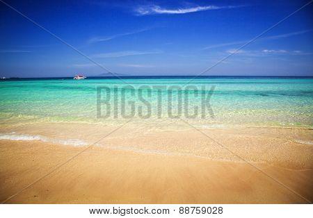 Beautiful tropical beach, Thailand