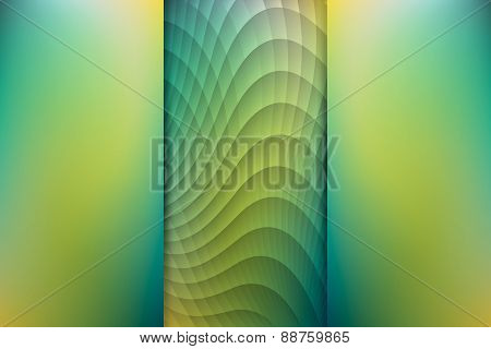 Rainforest Colored Abstract Background, Vector Illustration