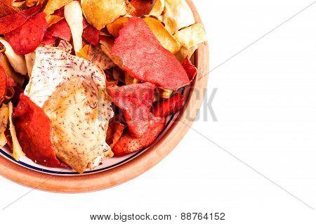 Crispy Root Vegetable Chips