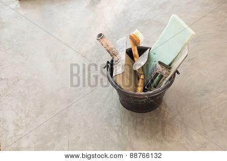Construction Tools For Concrete Job
