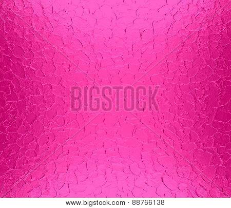 Barbie pink metallic metal texture background