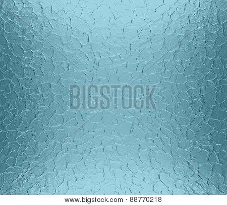 Blue Lagoon metallic metal texture background