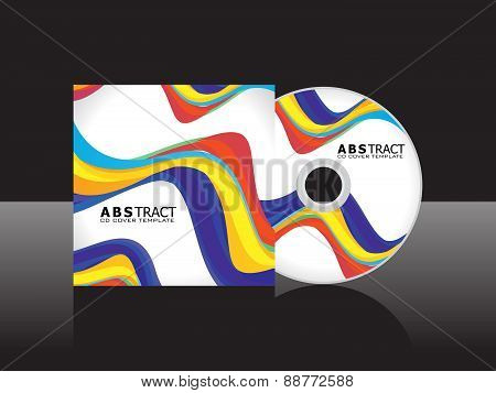 Abstract Rainbow Cd Cover