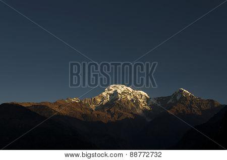 Annapurna I Himalaya Mountains In Nepal