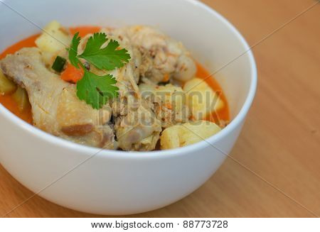 Curry Chicken Soup