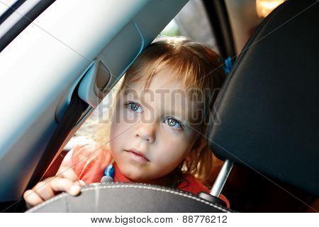 Girl  In The Car