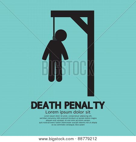 Death Penalty Symbol.