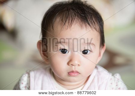 Portrait of beautiful baby