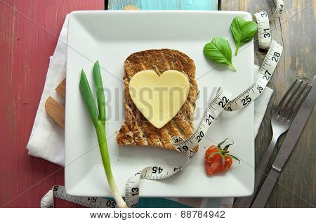 Healthy Toasted Sandwich