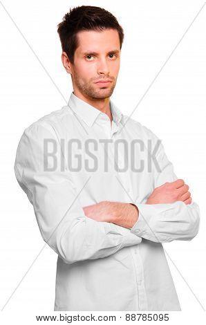 Businessman In A White Shirt
