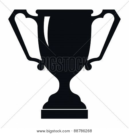 Ancient Trophy Cup Icon, Vector Illustration