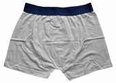 picture of boxer briefs  - Male underwear isolated on the white background - JPG
