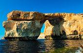 foto of gozo  - Gozo Azure Window Height Malta - JPG