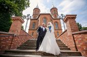 picture of ceremonial clothing  - beautiful wedding ceremony in the Hall organ - JPG
