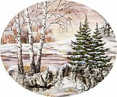 Winter Siberian Landscape