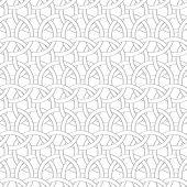 stock photo of interlocking  - Seamless geometric background - JPG