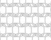 image of interlocking  - Seamless stylish geometric background - JPG