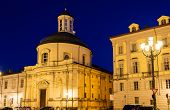 image of turin  - Holy Cross Church in Turin  - JPG