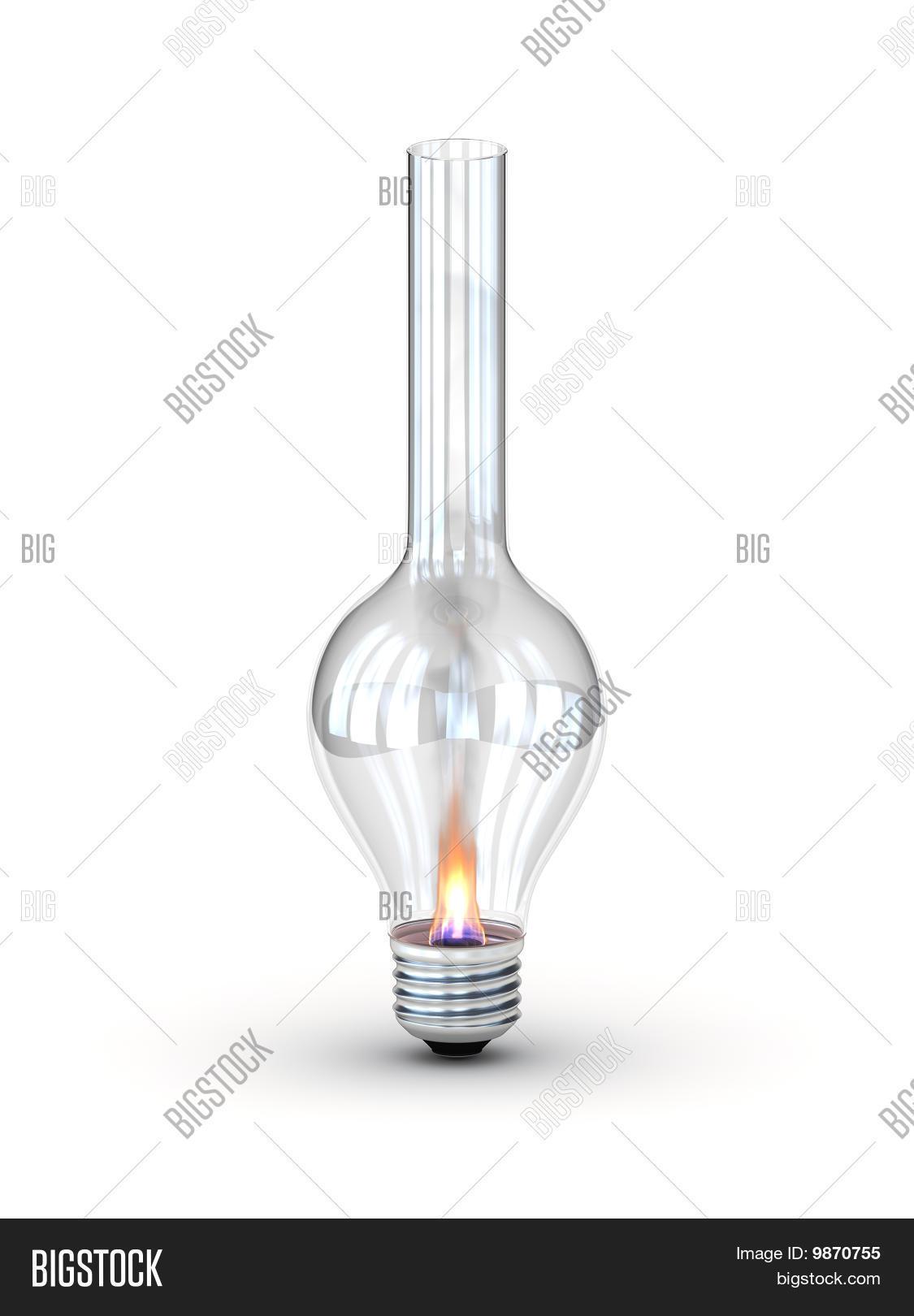 Lampe à huile moderne