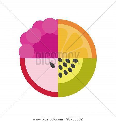 Vector Fruit Illustration