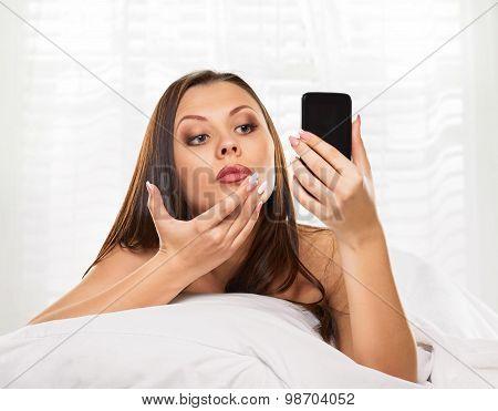 phone like a mirror