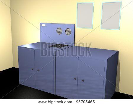 technical room 3d