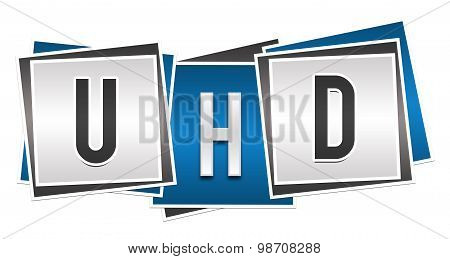 UHD Blue Grey Blocks