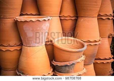 Pots For Gardening And Plant