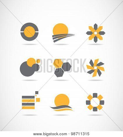 Vector Logo Design Elements Set
